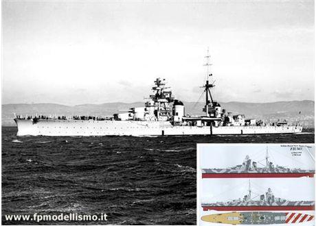 Incrociatore Fiume - Regia Marina Italiana * EURO 36,00 (Temporaneamente ESAURITO * Disponibilità 0)