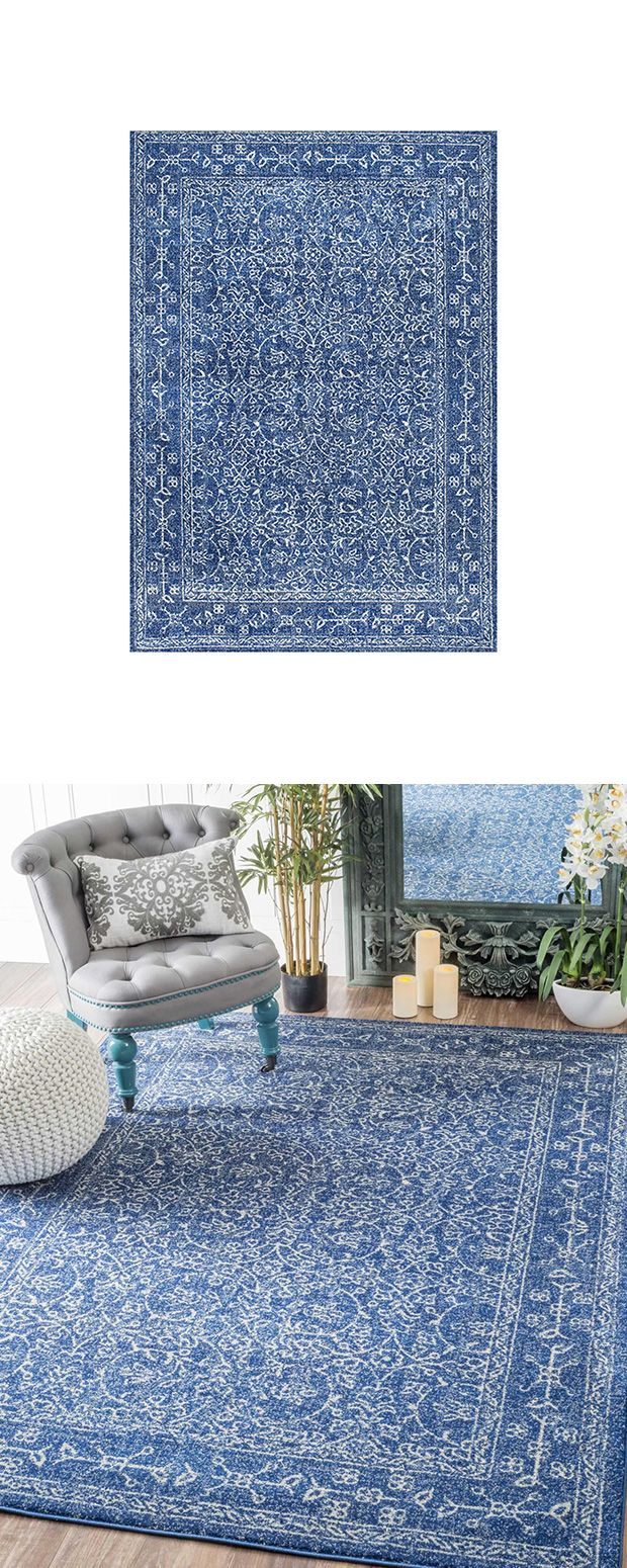 Delivering Eye Catching Color And A Fabulous Pattern, The Neveen Rug Brings  Vintage Charm