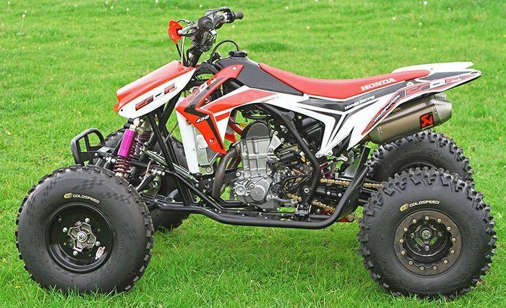 2016 - 2017 Honda TRX450R / CRF450R Engine Swap - Sport ATV