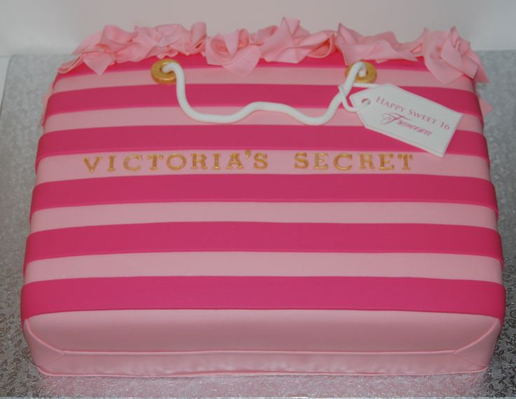 Victoria Secret Bag - Sweet 16 Cake | BIRTHDAY GIRL ...