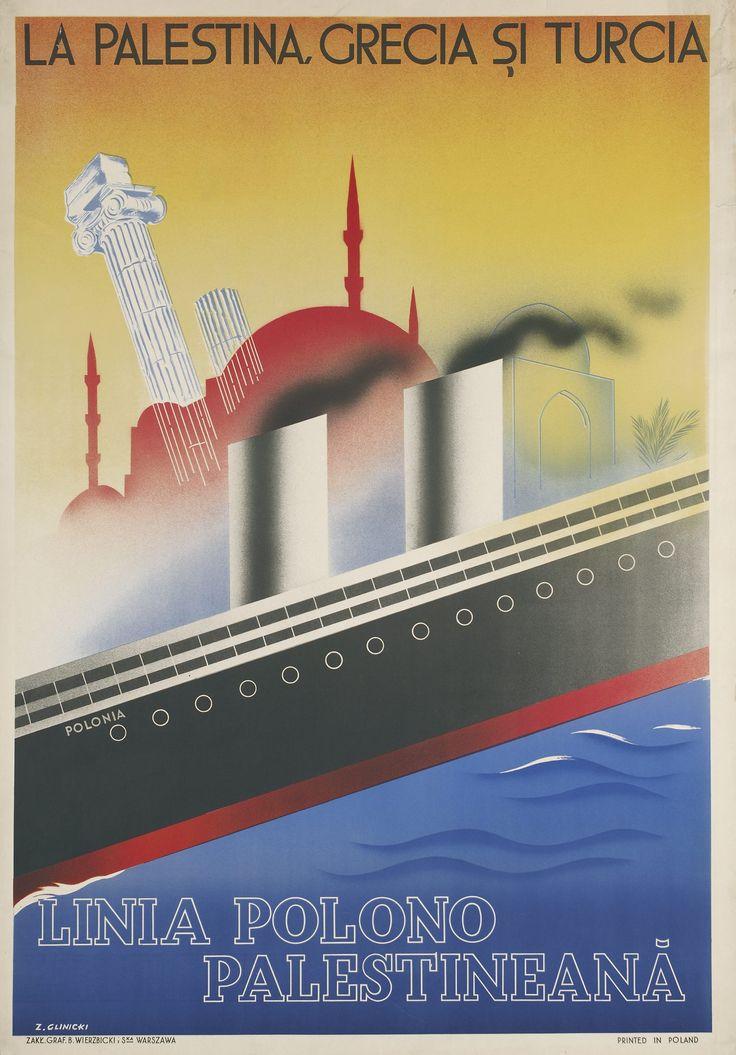 Linia Polono Palestineană | La Palestina, Grecia şi Turcia Datowanie zabytku: ok. 1934 Autor - autor: Glinicki, Zygmunt (1898-1940)