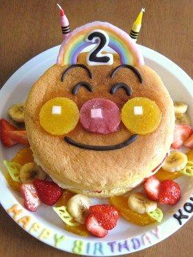 アンパンマンのバースデーケーキ(2歳) by あんちゃーん ...