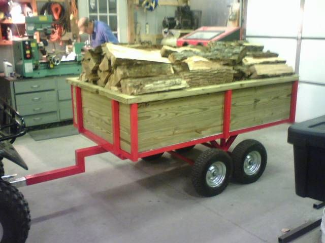 Trailer to pull behind your ATV - MyTractorForum.com - The Friendliest Tractor Forum and Best Place for Tractor Information