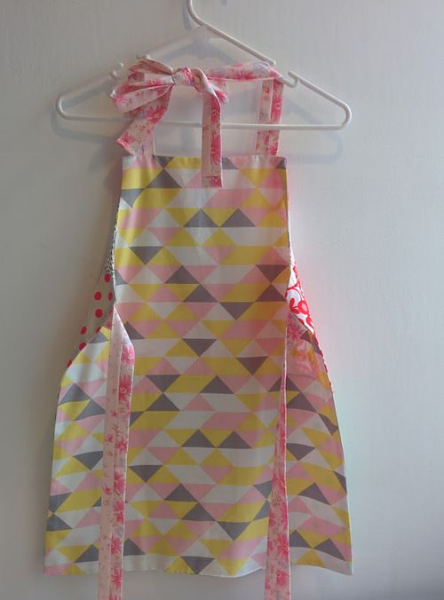 Reversible Custom Kids apron - Contact me for quote!