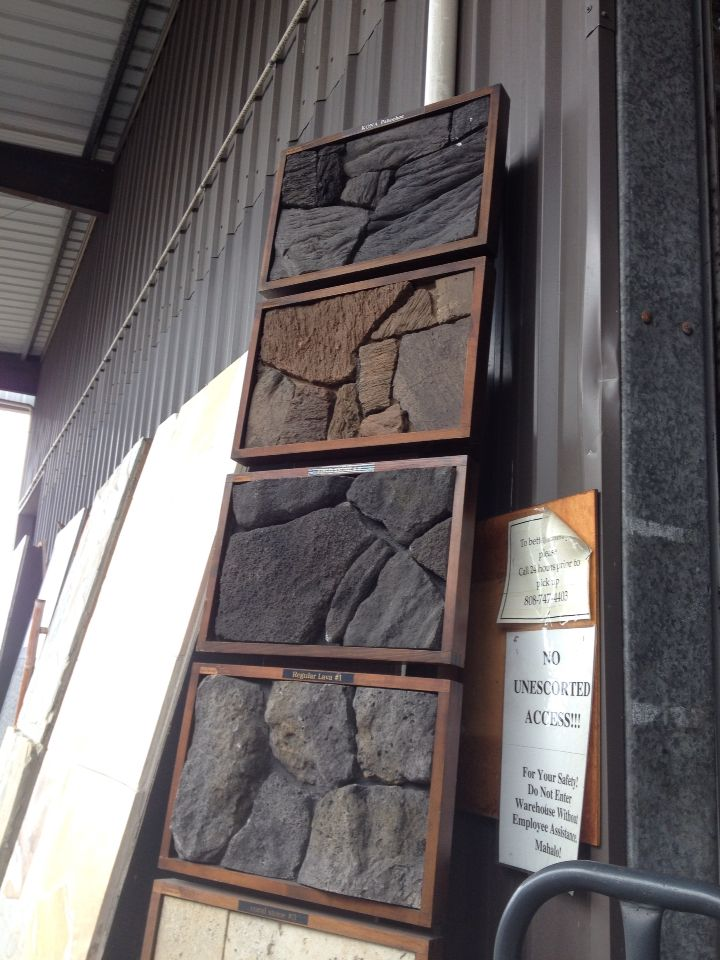 Fake Lava Rock Veneer From Bella Pietra 4 Month