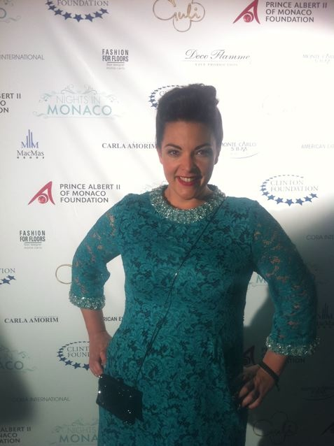 Nights in Monaco afterparty, May 23 2012 Dress: vintage