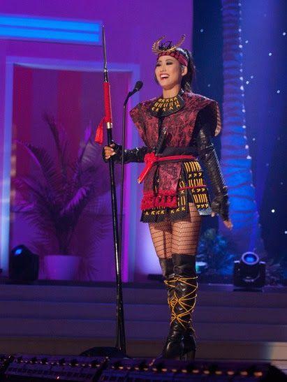Japan - It's A Wonderful Rife: Miss Universe Japan 2014 National Costume