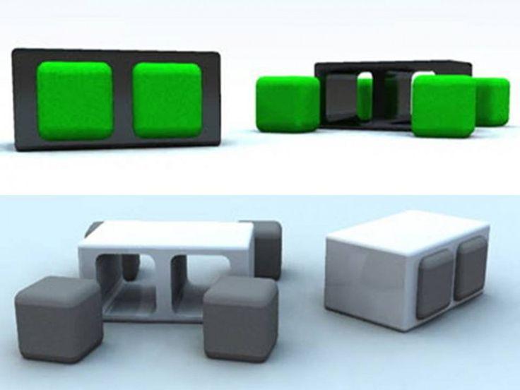 furniture that transforms. spacesaving furniture that transforms