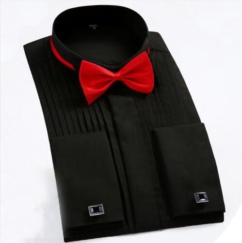 Best 25 black tuxedo shirt ideas on pinterest black for Best slim fit tuxedo shirt