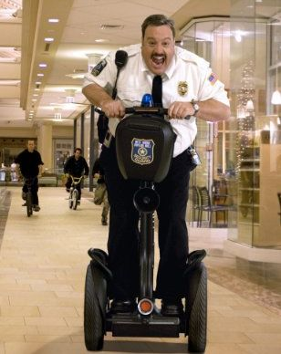 Paul Blart Mall Cop! I laughed my head off during this movie! I'm glad he got the girl!