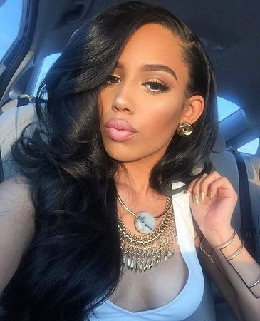 Long Hairstyles For Black Women Awesome 92 Best Lace Front Wigs Images On Pinterest