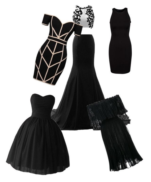 """Black dresses for funerals"" by alyssa-dudley-1 ❤ liked on Polyvore featuring art"