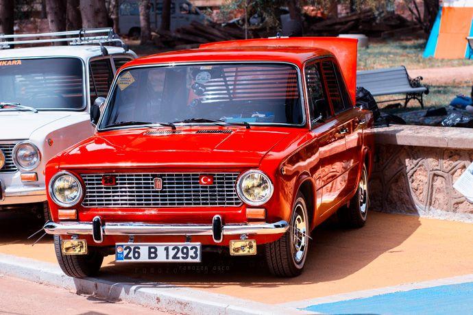 Red .. | Murat 124 | Lada Vaz | Classics | Turkey | Antalya