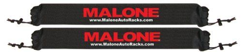 Malone 25-Inch Roof Rack Pads for Kayaks/SUPs/Surfboards (Set of 2) by Malone Auto Racks. $19.95. The Malon® roof rack pads provide an efficient way to transport surf boards, stand-up paddle boards, and kayaks. Built with high-grade EVA foam and protected by a water-resistant nylon sleeve, these pads will help protect a board or kayak from your vehicle's cross bars. An elastic shock cord and mid-positioned VELCRO® brand closure strap keep them secured while in use.