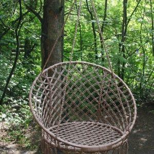 Плетем круглое кресло-га…