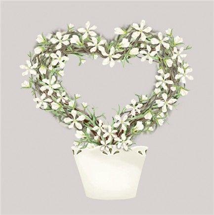 Jasmine Heart Notelets