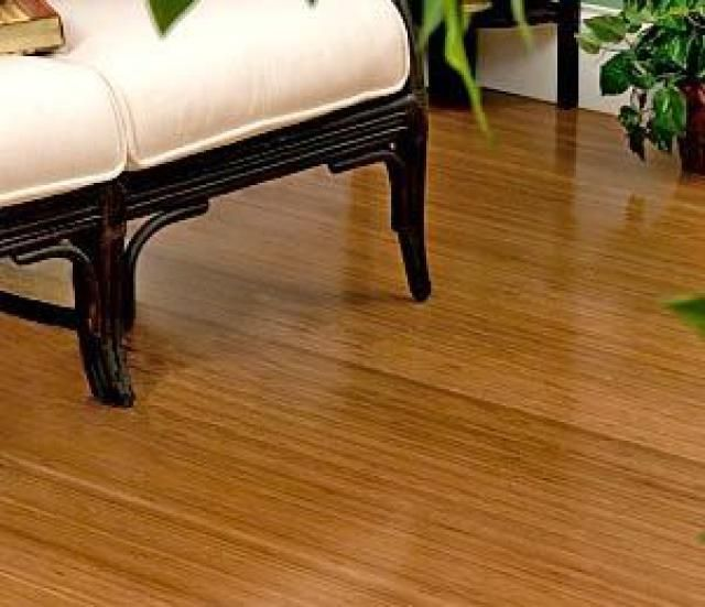 Engineered Wood Floor: Hickory, Oak, Bamboo, and Maple: Carbonized Bamboo Flooring:  Darker, Richer Hues Due To Carbonizing Process