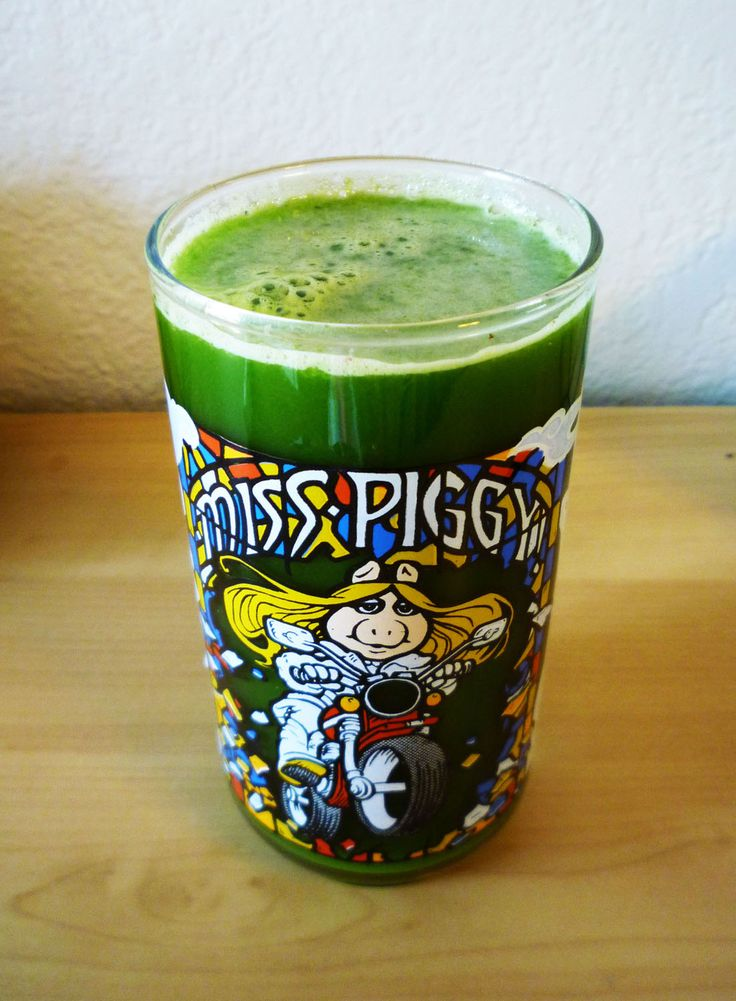 """My version of the """"Mean Green"""" juice:  1 bunch spinach, 1 bunch kale, 2 apples, 2 carrots, 1 cucumber, 4 celery stalks, 2 small tomatoes, and a half jalapeño for some kick!"""