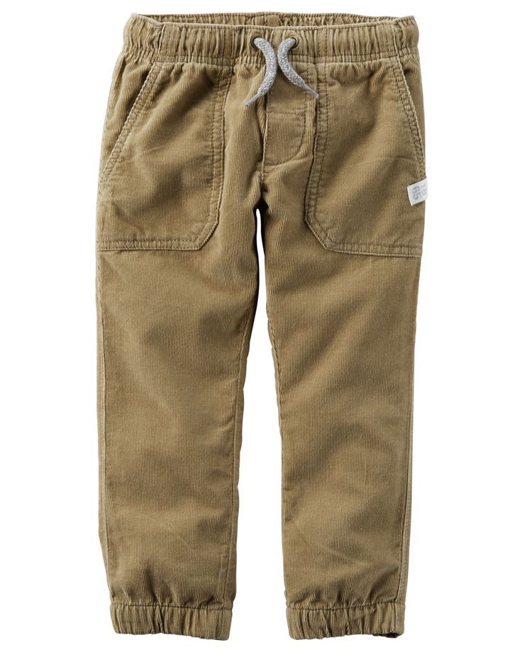 Toddler Boy Corduroy Joggers from Carters.com. Shop clothing & accessories from a trusted name in kids, toddlers, and baby clothes.