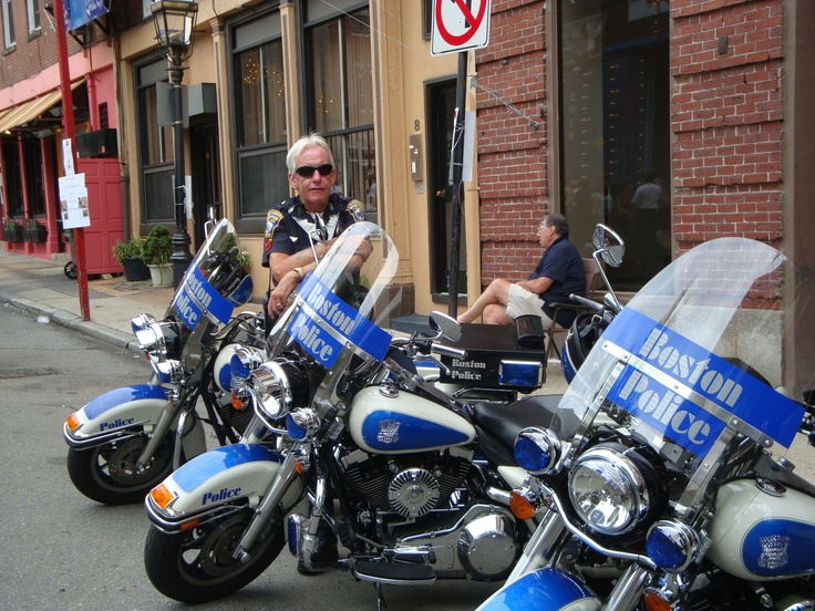 Boston Police Motorcycle Unit Specialized Units