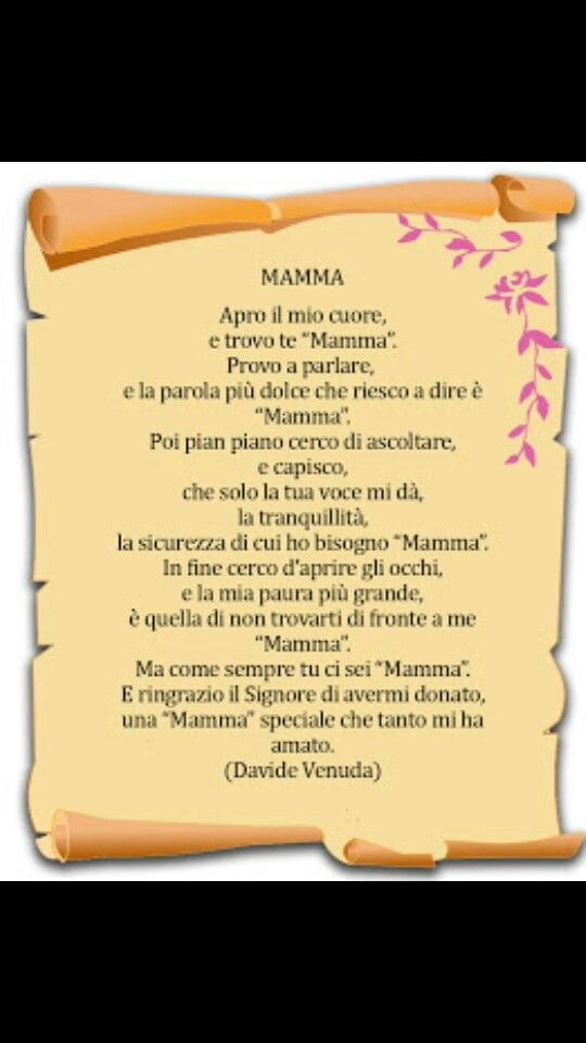 """Mamma"""