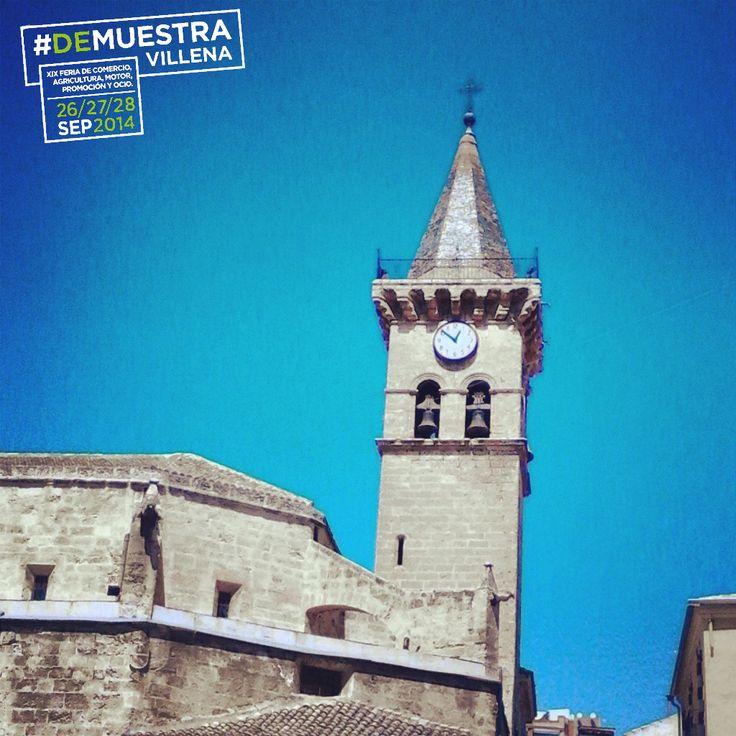 El reloj de la Iglesia de Santiago ya cuenta lo poco queda para Muestra Villena. Este fin de semana, 26, 27 y 28 de Septiembre, HAY QUE ESTAR EN MUESTRA VILLENA. #DeMuestraVillena #Villena  www.muestravillena.villena.es  www.facebook.com/Muestravillena  @muestravillena
