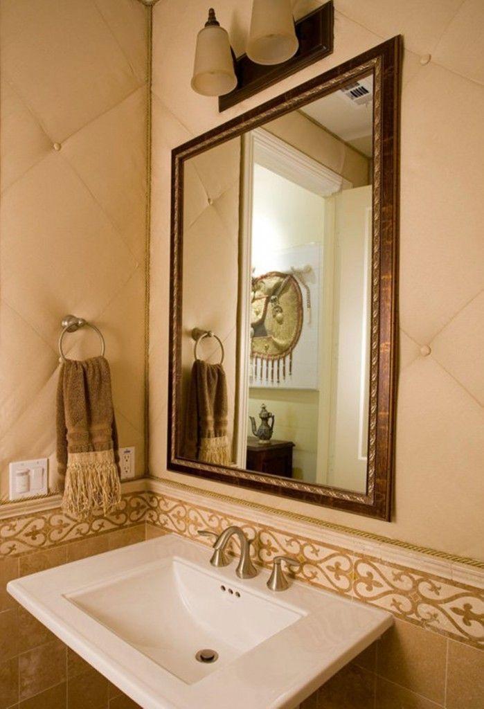 Black pedestal sink for small bathroom