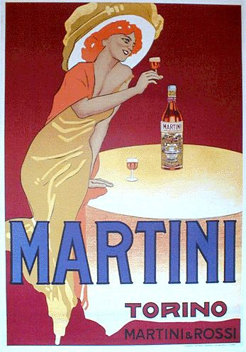 Marcello Dudovich, Martini.