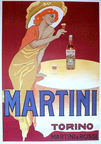 Marcello Dudovich, Martini.