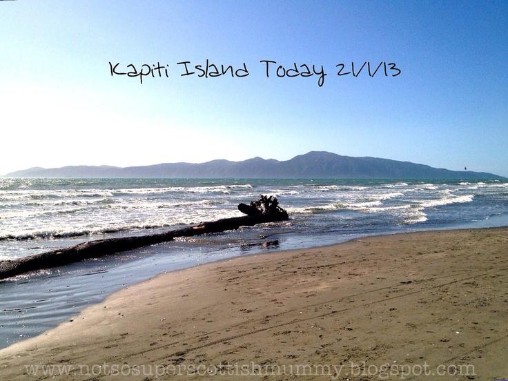 Not So Super Scottish Mummy: Kapiti Island Today 21/1/13
