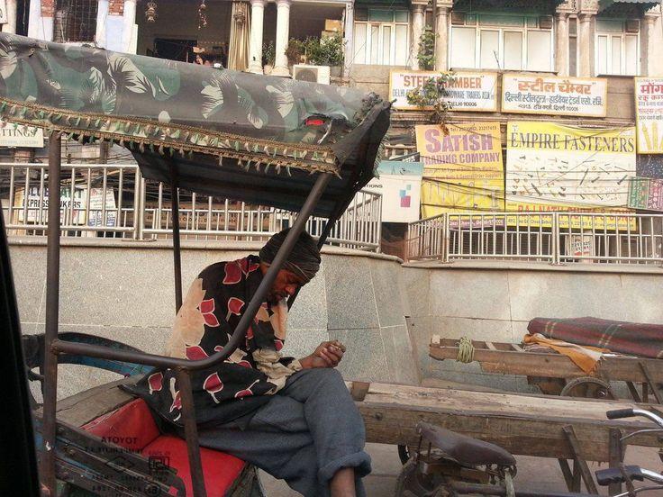 browse around http://earth66.com/human/india-sleeping-rickshaw-driver-old-delhi/