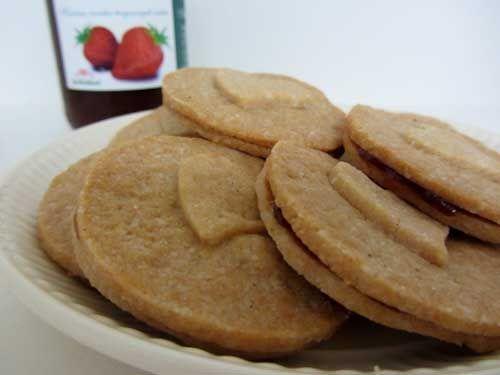 Suikervrij recept: Zanddeeg koekjes -glutenvrij - suikervrij - zuivelvrij #suikervrij #koekjes #bakken