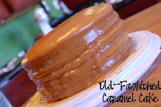 Old fashioned Caramel cake