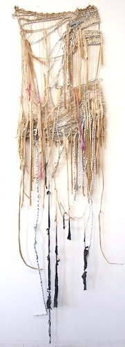 Weaving by Eve Lateiner