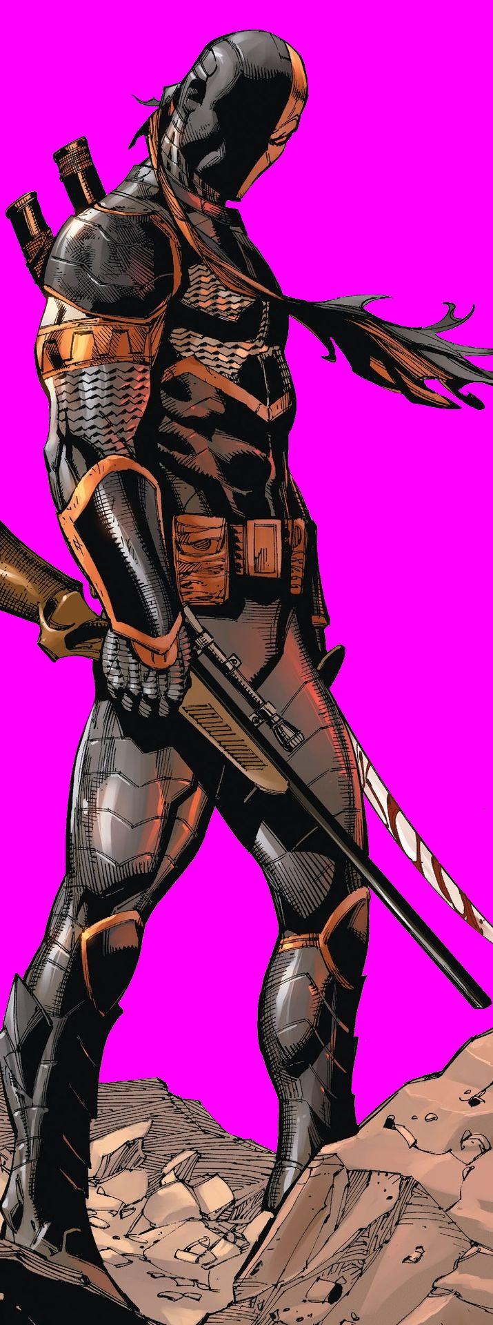 Slade Wilson in Deathstroke #2