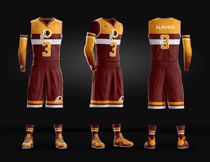 Jersey Uniform Behance PSD  template on Basketball