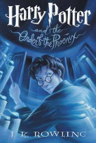 Harry Potter and the Order of the Phoenix by J. K. Rowling (because it was high time to reread the series...)