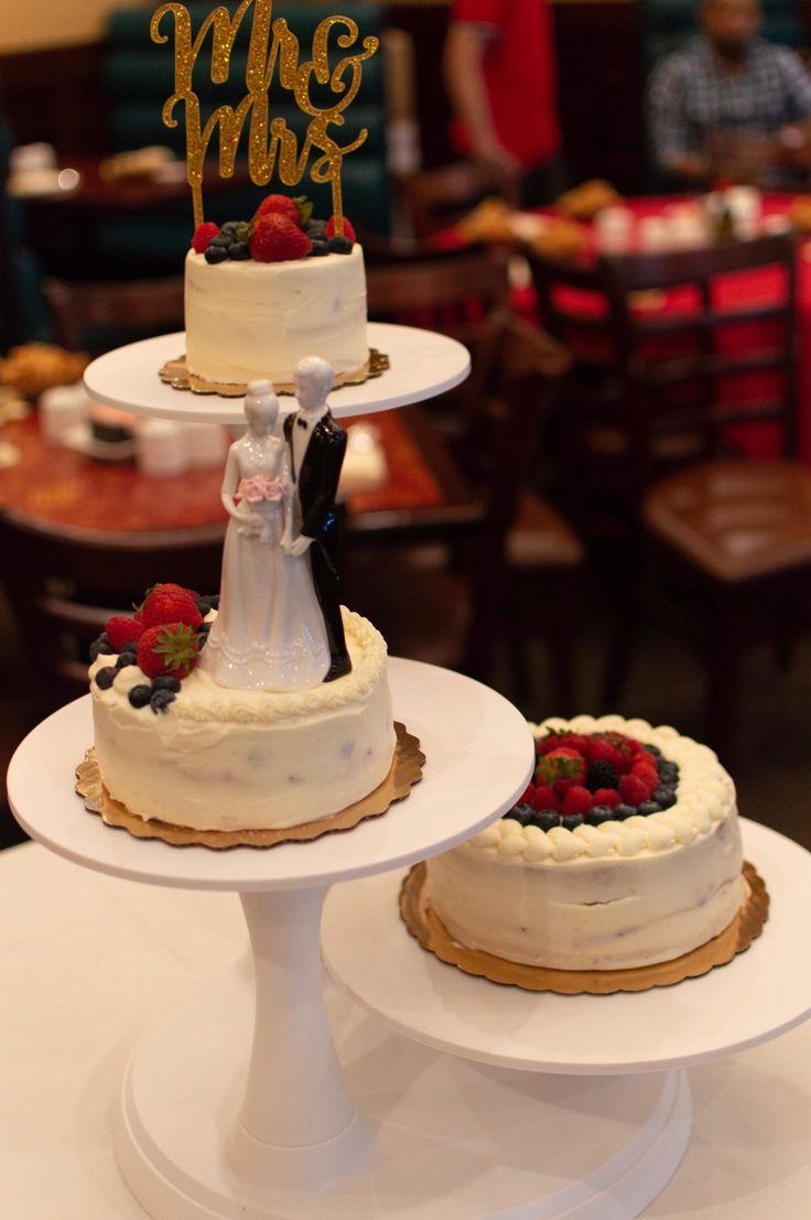 Berry chantilly wedding cake cake yellow cake mixed