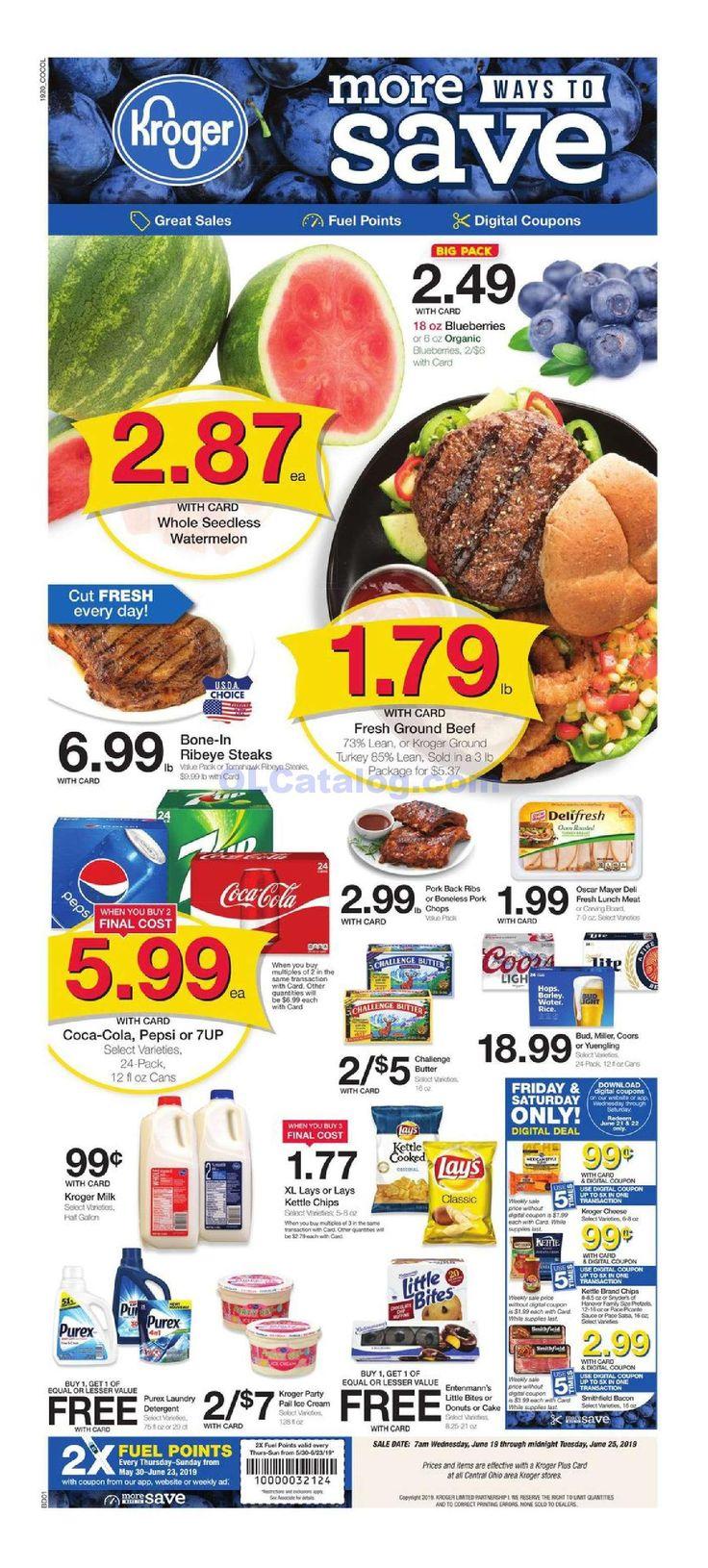Kroger weekly ad june 19 25 2019 check latest kroger