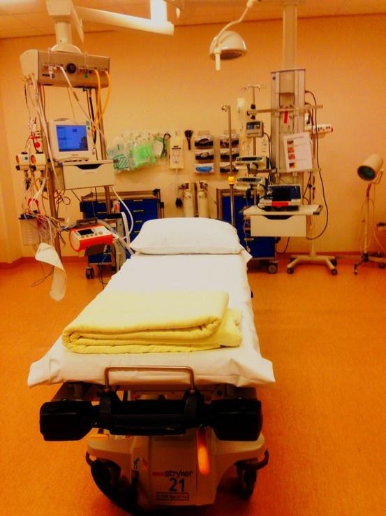 Reanimatiekamer Spoedeisende hulp UMCG