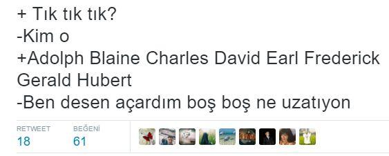 Mizah Sayfam: Son zamanlarda atılmış efsane Tweetler