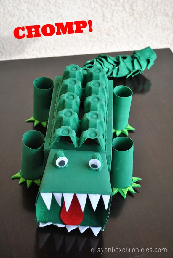 valentine box alligator