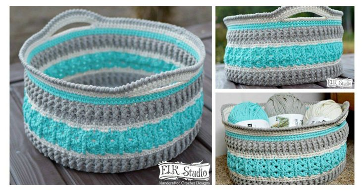 This Sea Glass Basket Free Crochet Patterncan be used to create unique storage solutions for your home. It can be usedfor your yarn stash and other items.