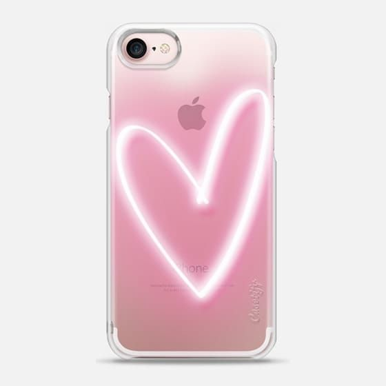 Neon Heart - Snap Case | phone cases | phone cases for girls | phone cases for guys | iPhone 6 | iPhone 7 | iPhone 6s | iPhone 6s Plus | iPhone 7 Plus | iPhone SE #iphone6spluscase,