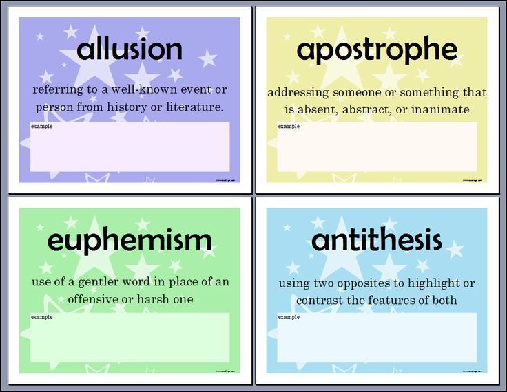 english literary terms antithesis List if figures of speech - antithesis definition and examples of antithesis.