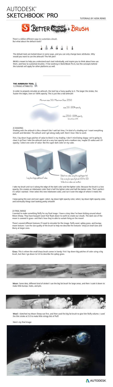 BKAB Autodesk SketchBook tutorial: The Airbrush by reneedicherri on DeviantArt