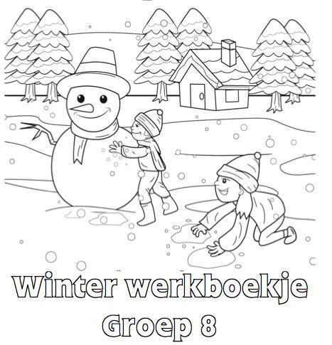 Winter Werkboekje Groep 8