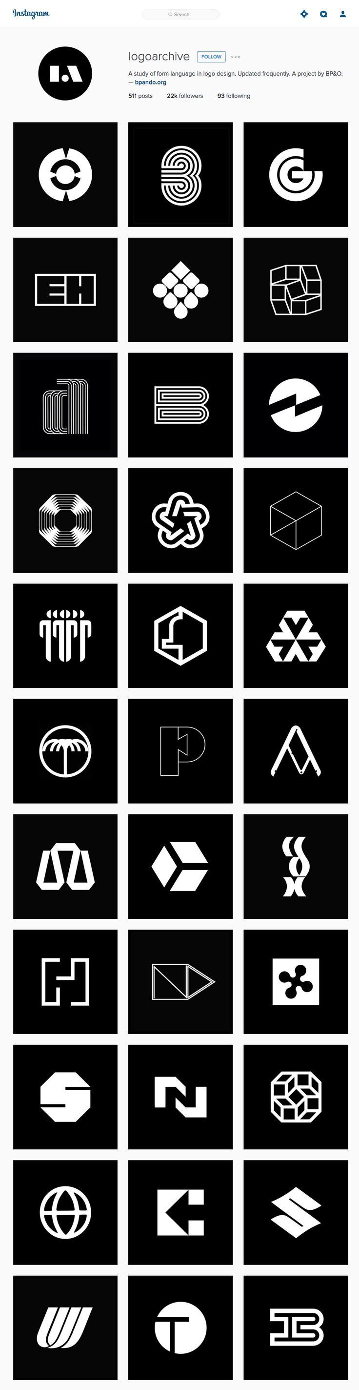 Les recomiendo ampliamente que sigan la cuenta de Instagram de Logoarchive, un proyecto curado por el diseñador inglés Richard Baird del sitio BP&O donderescata los mejoresisotipos y monogramas del siglo XXI de una manera muy limpia y ordenada.Algo que