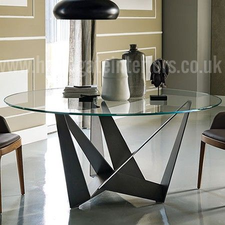 Cattelan Italia Skorpio Round Glass Table | Dining Table | Cattelan Italia Part 55
