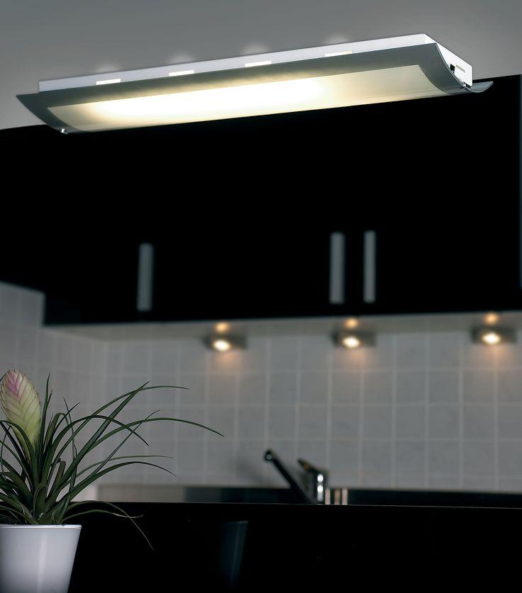 lighting for kitchens ceilings. kitchen light from endon lighting sleek simplistic design httpwww for kitchens ceilings